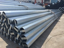 Awarded 1000 nos of 12 Meter galvanized-steel-pole-manufacturer